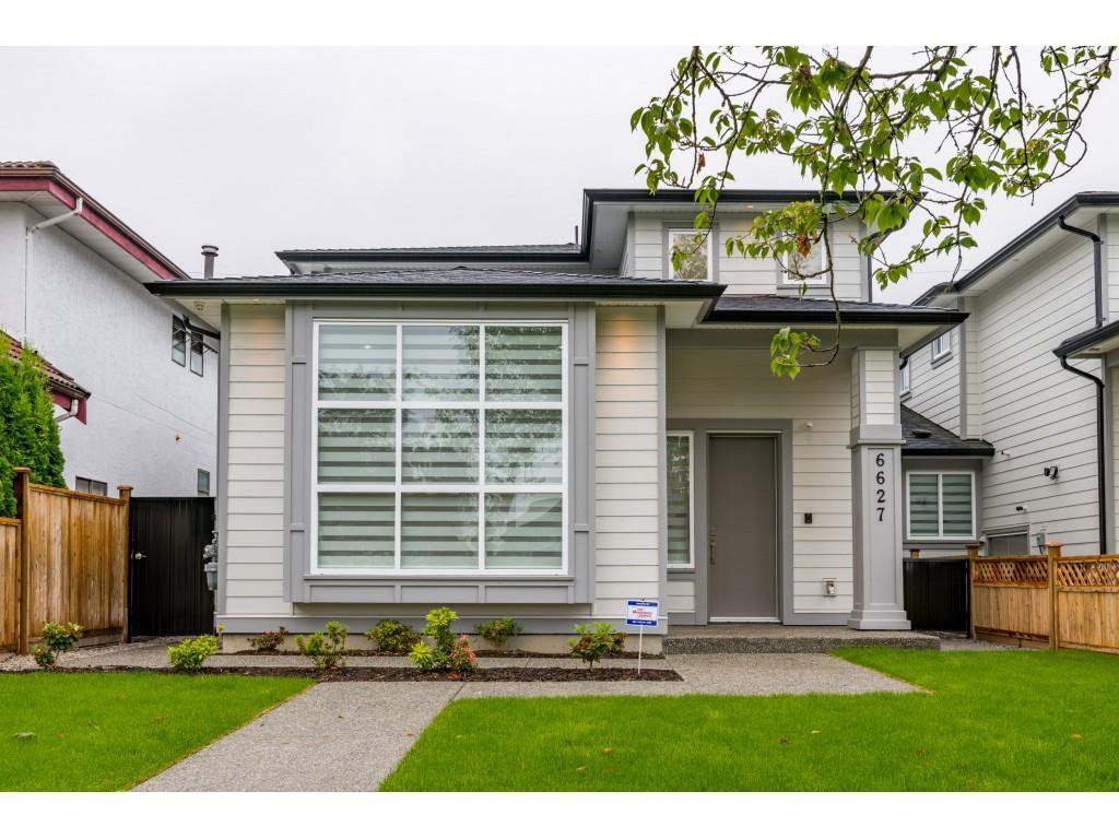 Main Photo: 6627 KITCHENER Street in Burnaby: Sperling-Duthie House 1/2 Duplex for sale (Burnaby North)  : MLS®# R2454463