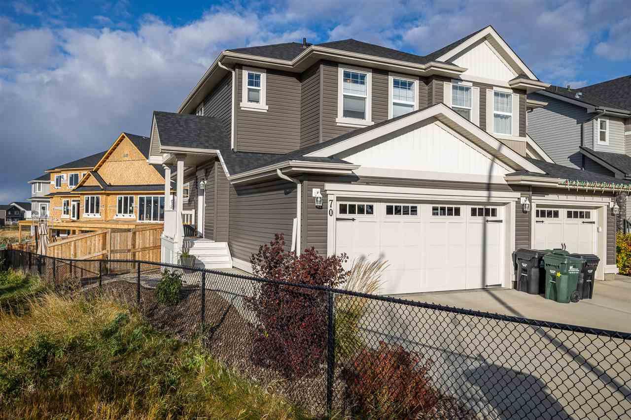 Main Photo: 70 ABBEY Road: Sherwood Park House Half Duplex for sale : MLS®# E4218223