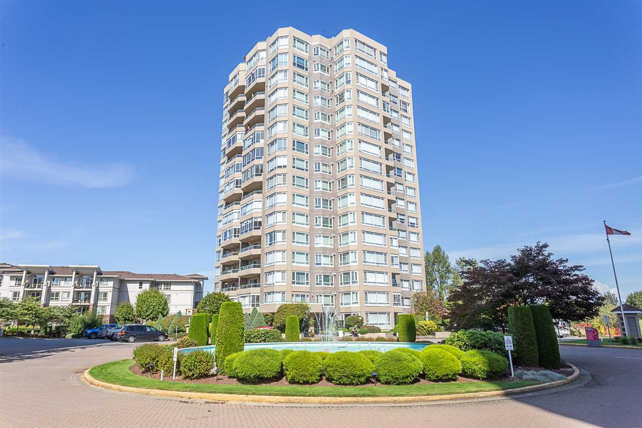 """Main Photo: 405 3190 GLADWIN Road in Abbotsford: Central Abbotsford Condo for sale in """"Regency Park Tower 3"""" : MLS®# R2524768"""
