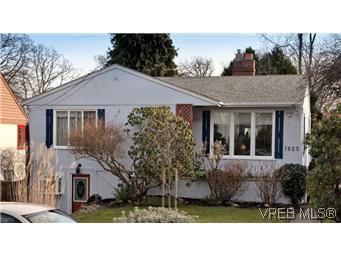 Main Photo: 1625 Yale St in VICTORIA: OB North Oak Bay House for sale (Oak Bay)  : MLS®# 567750