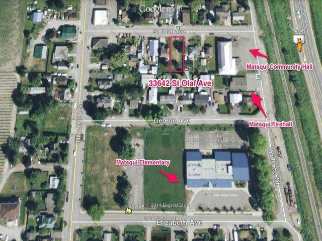 "Main Photo: 33642 ST OLAF Avenue in Abbotsford: Matsqui Land for sale in ""Matsqui Village"" : MLS®# F1410538"