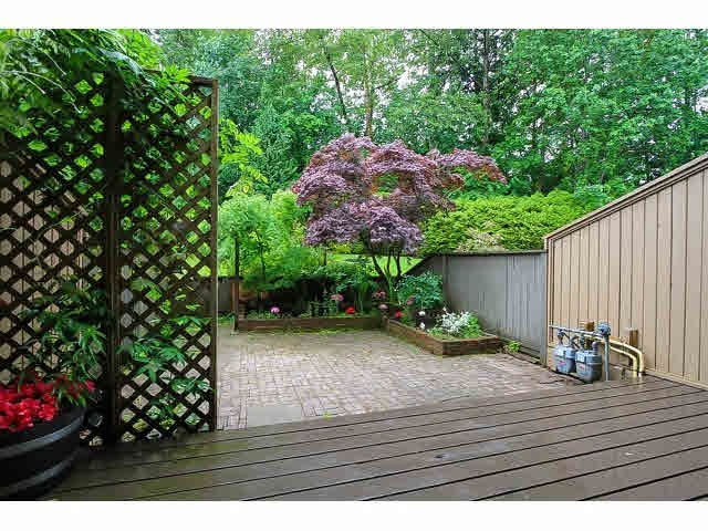 """Photo 17: Photos: 10 2980 MARINER Way in Coquitlam: Ranch Park Townhouse for sale in """"MARINER MEWS"""" : MLS®# V1088633"""