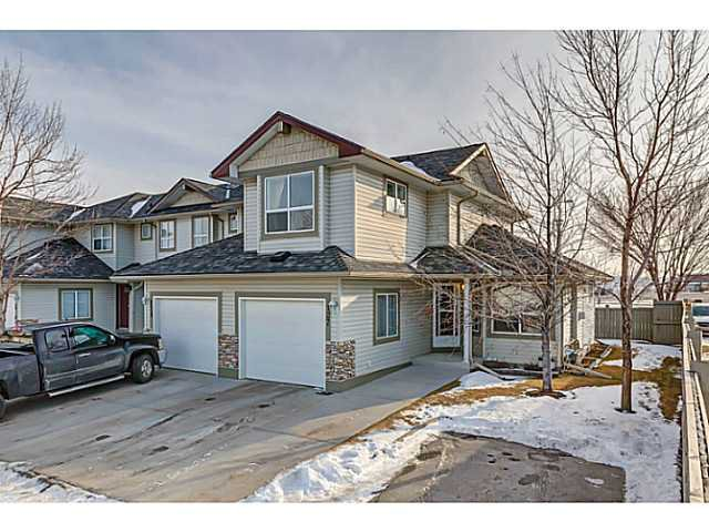 Photo 1: Photos: 127 HARVEST GOLD Place NE in Calgary: Harvest Hills Townhouse for sale : MLS®# C3653395