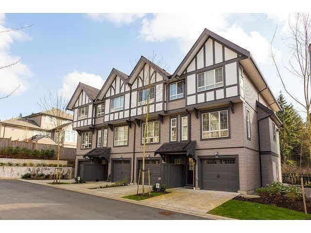 "Main Photo: 23 1338 HAMES Crescent in Coquitlam: Burke Mountain Townhouse for sale in ""FARRINGTON"" : MLS®# V1107245"