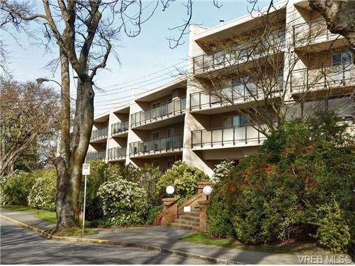 Main Photo: 307 1419 Stadacona Ave in VICTORIA: Vi Fernwood Condo Apartment for sale (Victoria)  : MLS®# 694240