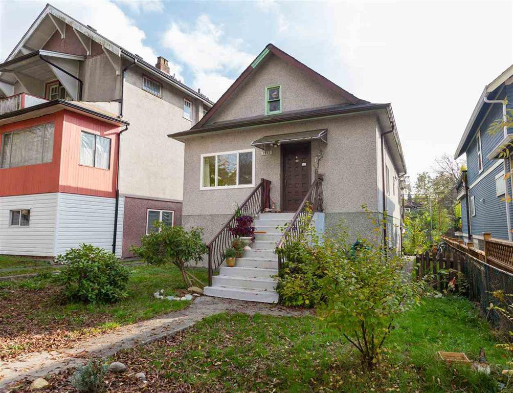 Main Photo: 1942 Grant St. in Vancouver: Grandview VE House for sale (Vancouver East)  : MLS®# R2010882