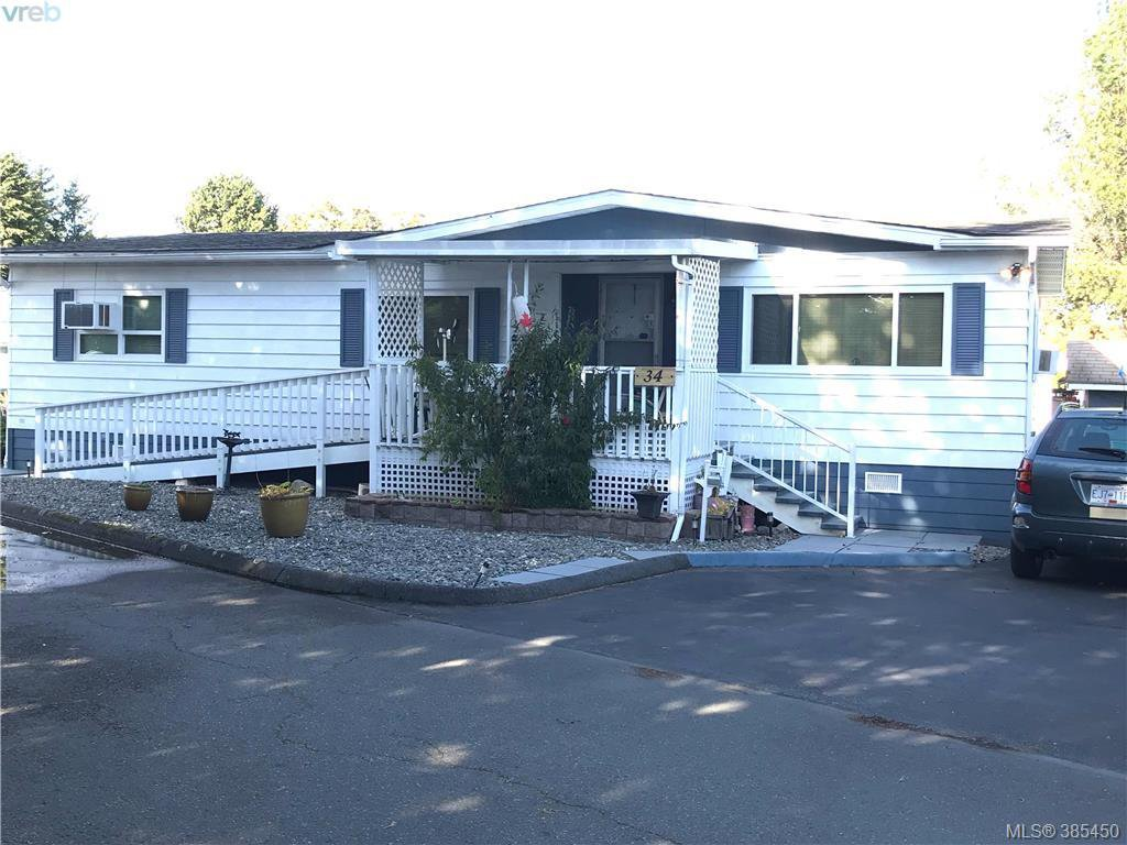 Main Photo: 34 1498 Admirals Rd in VICTORIA: VR Glentana Manufactured Home for sale (View Royal)  : MLS®# 774546