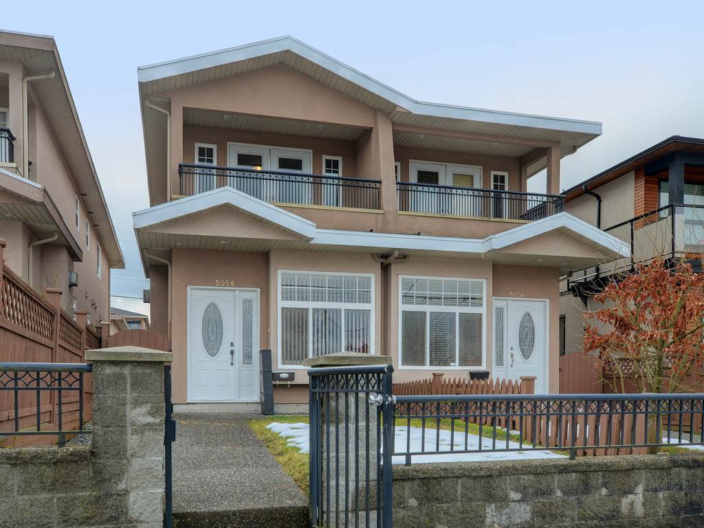 Main Photo: 5058 DOMINION Street in Burnaby: Central BN 1/2 Duplex for sale (Burnaby North)  : MLS®# R2348283