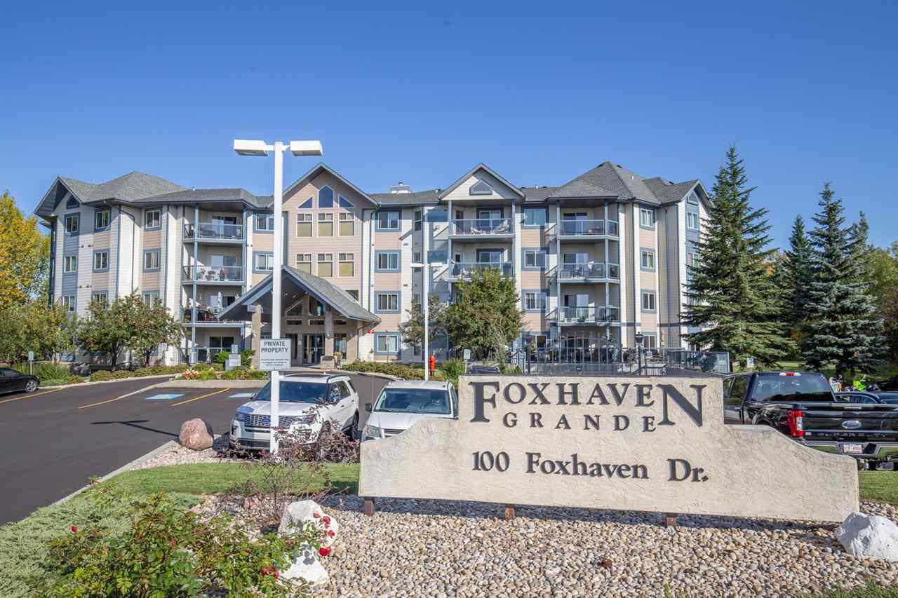 Main Photo: 302 100 FOXHAVEN Drive: Sherwood Park Condo for sale : MLS®# E4174451
