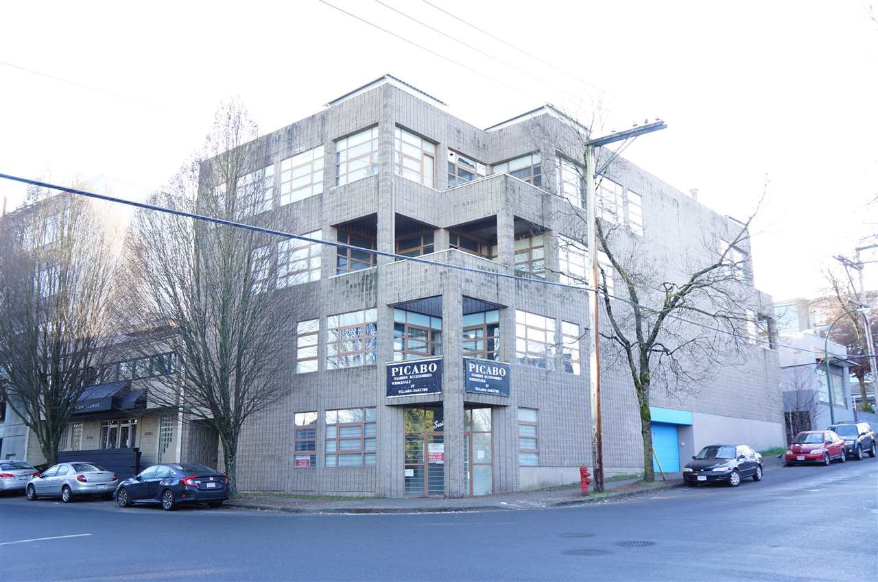 Main Photo: 300 88 W 8TH Avenue in Vancouver: Mount Pleasant VW Office for lease (Vancouver West)  : MLS®# C8034715