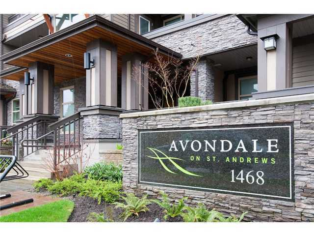 "Main Photo: 105 1468 ST ANDREWS Avenue in North Vancouver: Central Lonsdale Condo for sale in ""Avondale"" : MLS®# V874368"