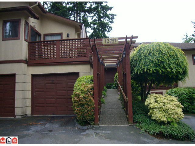 Main Photo: 103 12751 16TH Avenue in Surrey: Crescent Bch Ocean Pk. Townhouse for sale (South Surrey White Rock)  : MLS®# F1214452