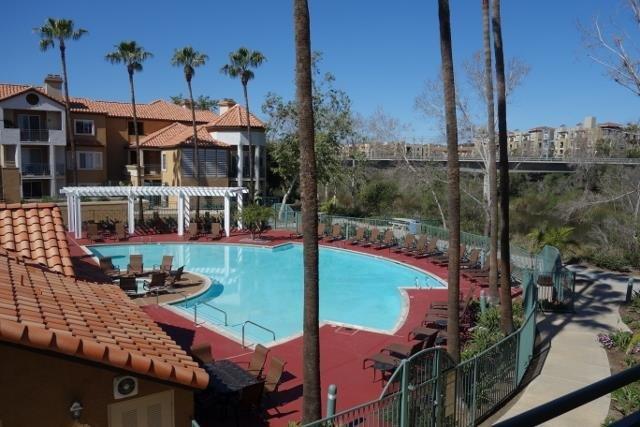 Main Photo: MISSION VALLEY Condo for sale : 2 bedrooms : 2150 Camino De La Reina #4208 in San Diego