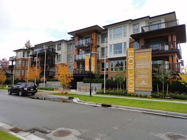 "Main Photo: 417 1153 KENSAL Place in Coquitlam: New Horizons Condo for sale in ""ROYCROFT"" : MLS®# V1109845"