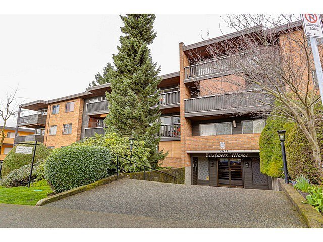 "Main Photo: 211 1011 FOURTH Avenue in New Westminster: Uptown NW Condo for sale in ""CRESTWELL MANOR"" : MLS®# R2045059"