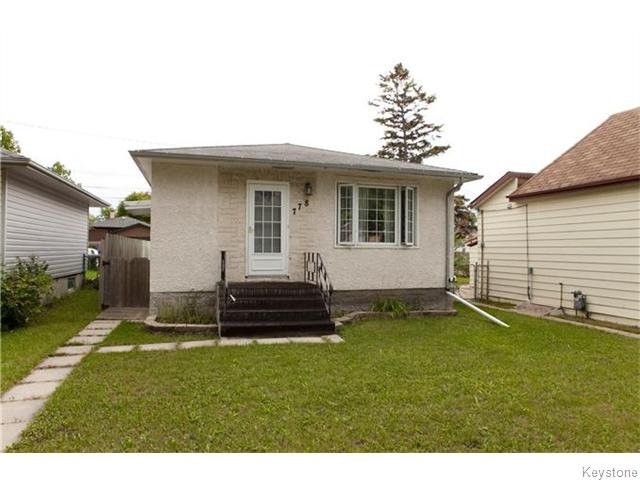 Main Photo: 778 Talbot Avenue in Winnipeg: East Kildonan Residential for sale (3B)  : MLS®# 1624155