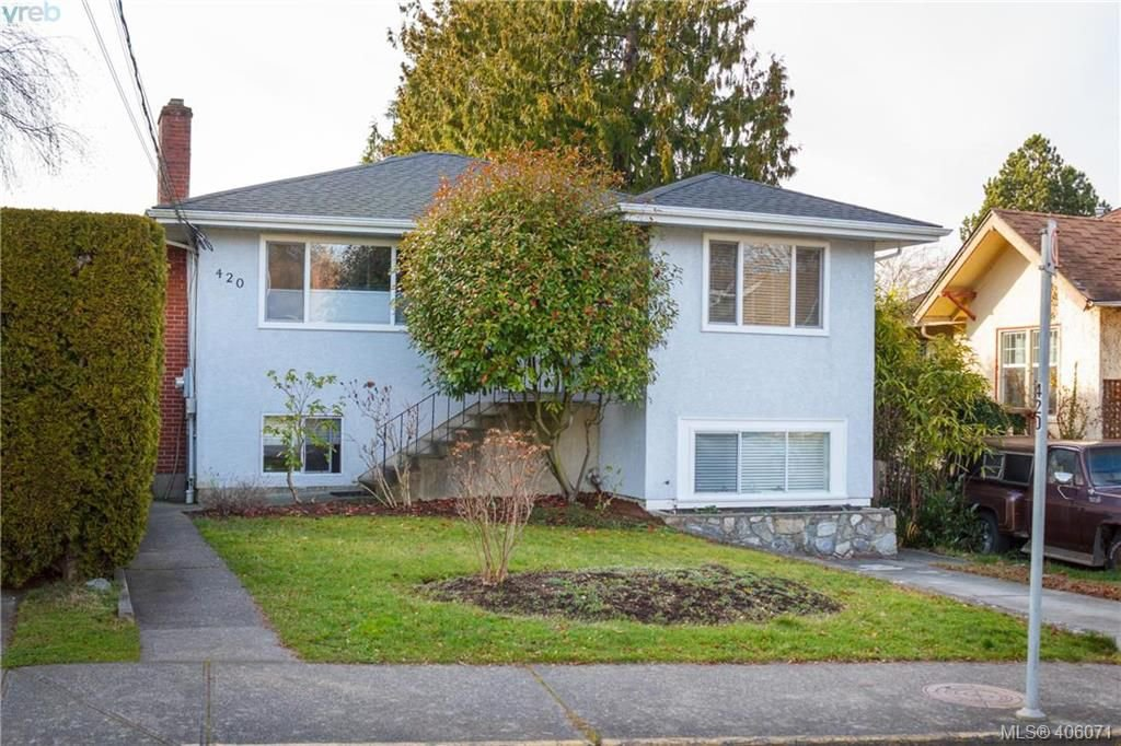 Main Photo: 420 Richmond Avenue in VICTORIA: Vi Fairfield East Single Family Detached for sale (Victoria)  : MLS®# 406071