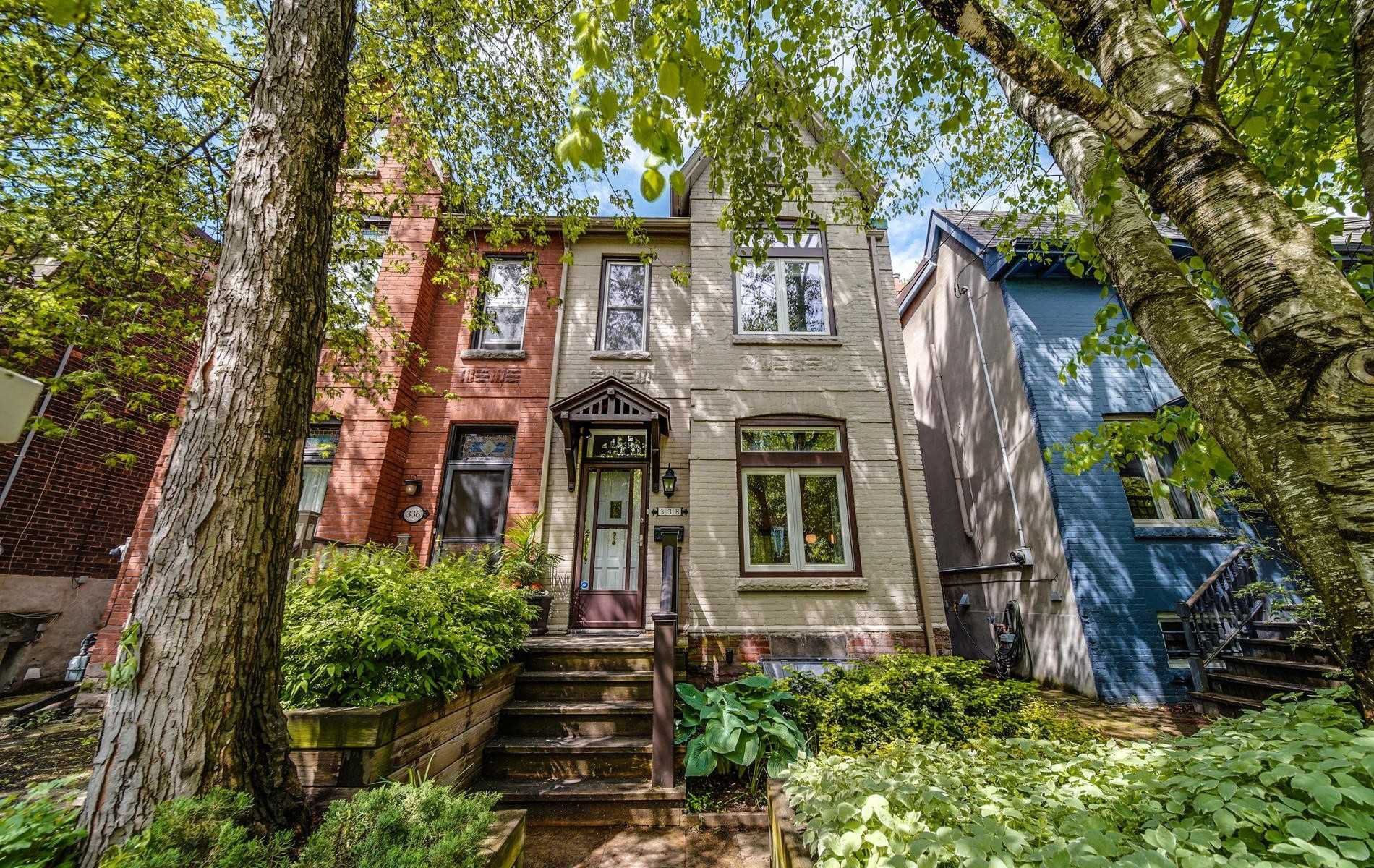 Main Photo: 338 Logan Avenue in Toronto: South Riverdale House (2 1/2 Storey) for sale (Toronto E01)  : MLS®# E4480515