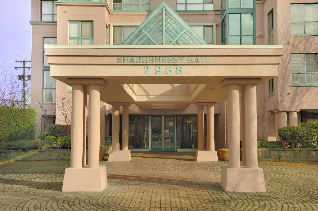 When coming home is important to you, you should live here.  A welcoming entrance into a secure, quality building.