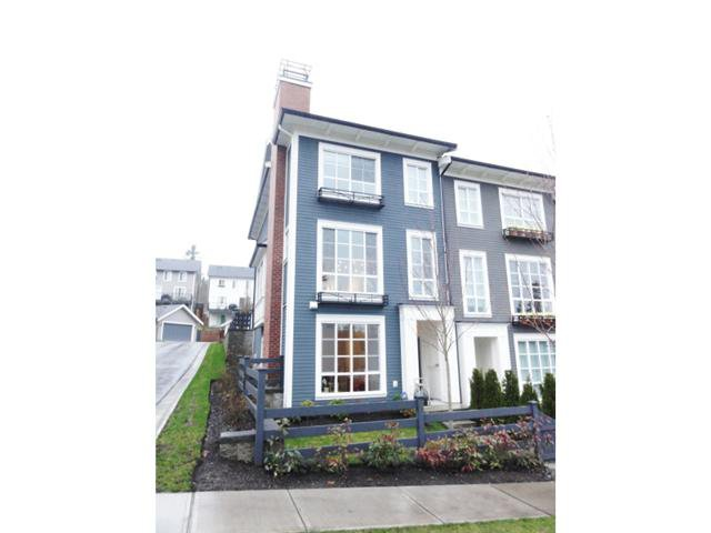 Main Photo: 1 3437 WILKIE Avenue in Coquitlam: Burke Mountain Townhouse for sale