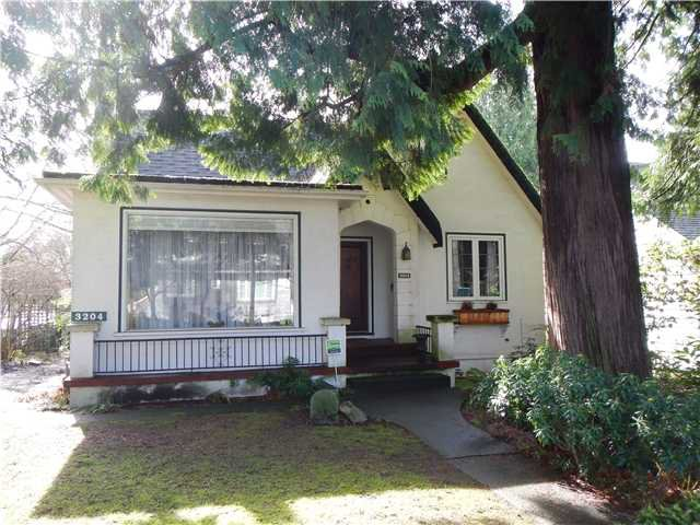 Main Photo: 3204 W 26TH Avenue in Vancouver: MacKenzie Heights House for sale (Vancouver West)  : MLS®# V1049263