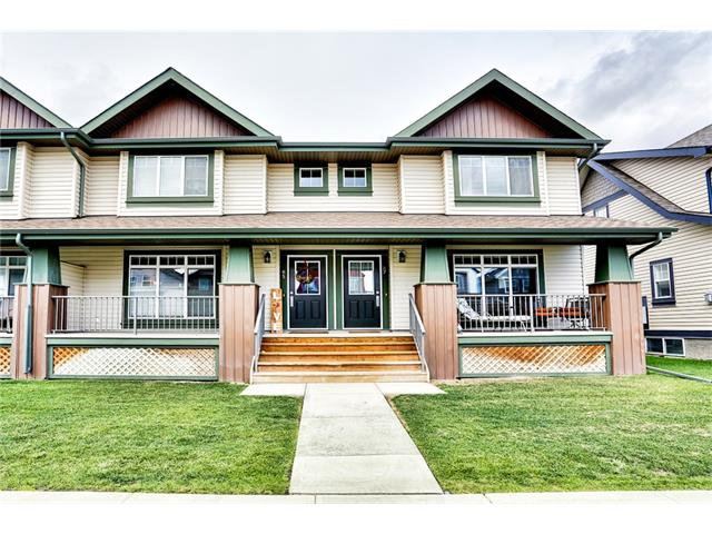 Great curb appeal - home is on the left