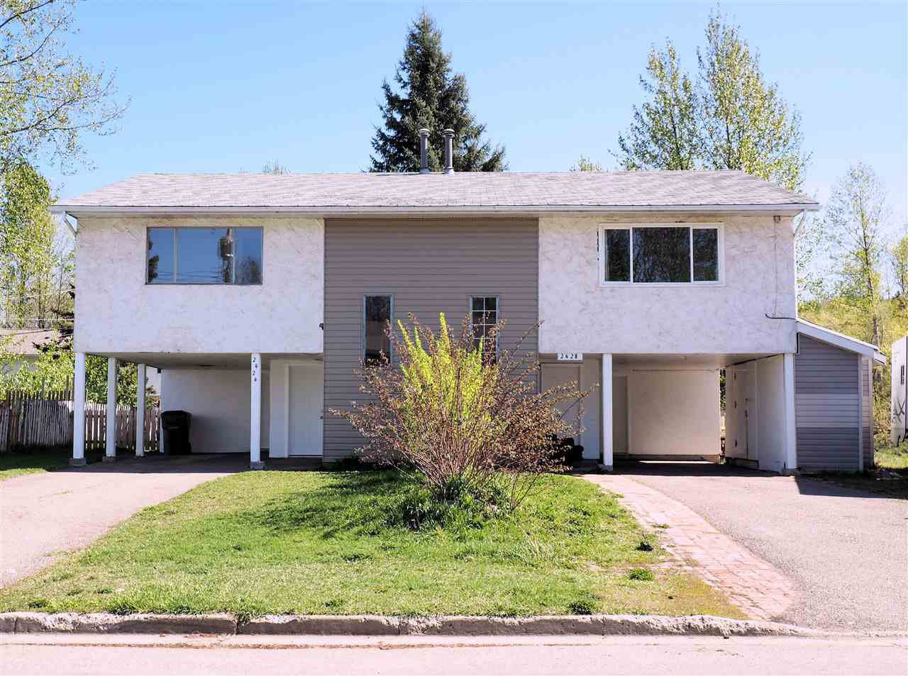 Main Photo: 2424 - 2428 OAK Street in Prince George: VLA House Duplex for sale (PG City Central (Zone 72))  : MLS®# R2060127