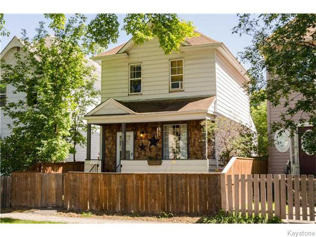 Main Photo: 683 Victor Street in Winnipeg: West End Residential for sale (5A)  : MLS®# 1620390