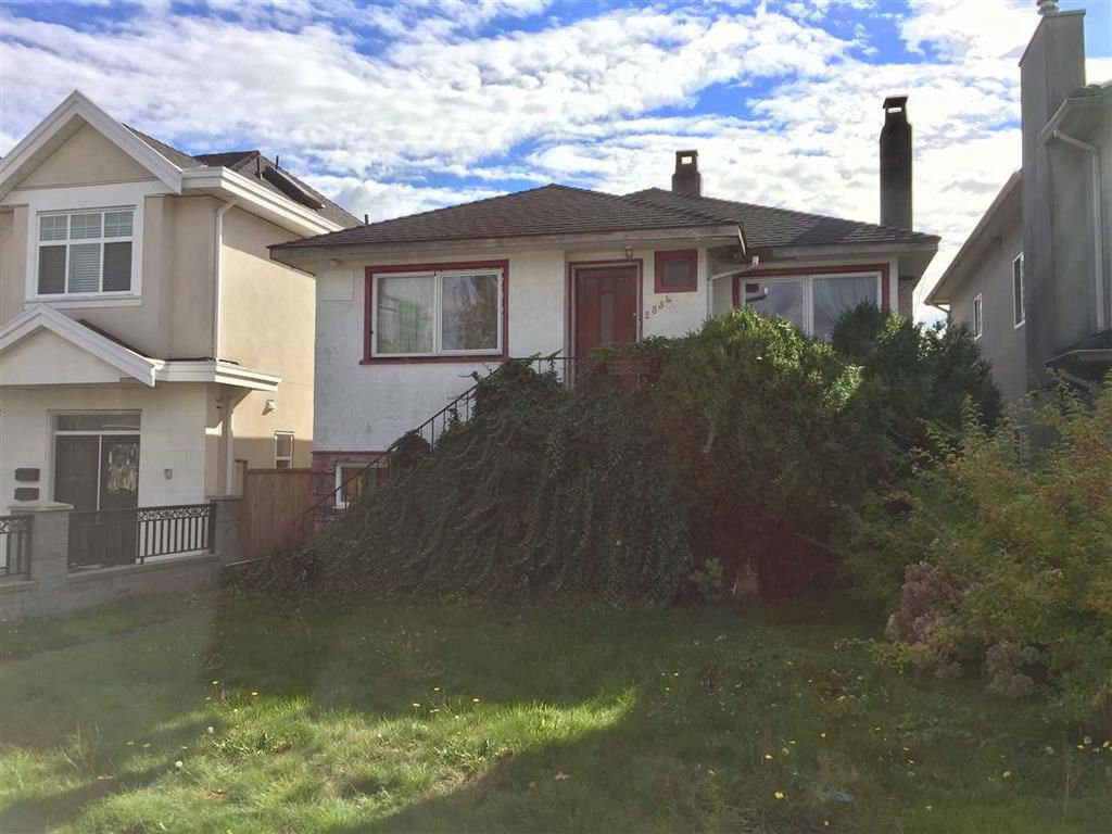 Photo 1: Photos: 2834 MCGILL Street in Vancouver: Hastings East House for sale (Vancouver East)  : MLS®# R2133764