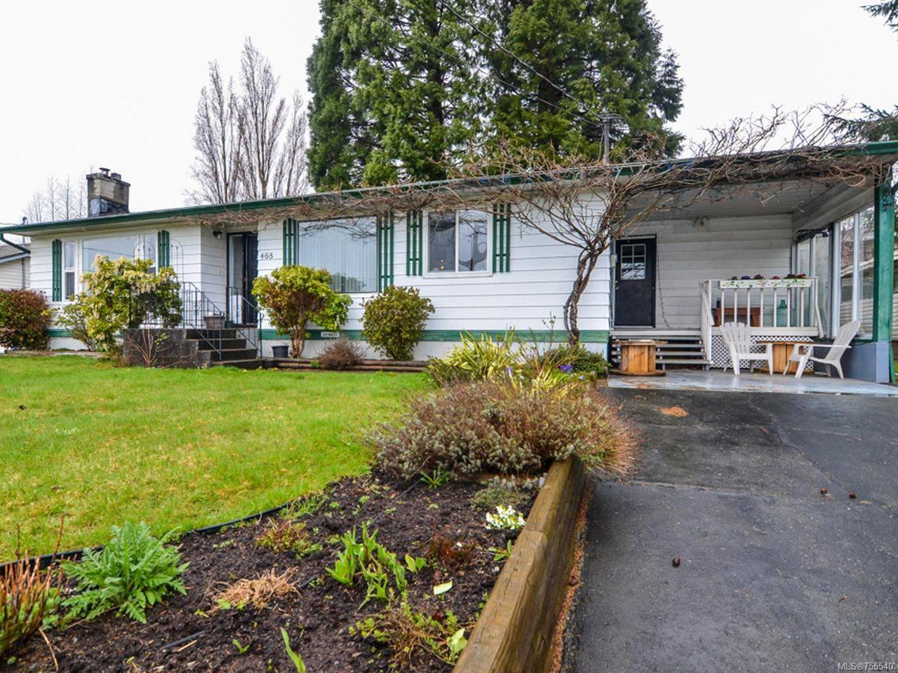 Main Photo: 468 Sandowne Dr in CAMPBELL RIVER: CR Campbell River Central House for sale (Campbell River)  : MLS®# 755540