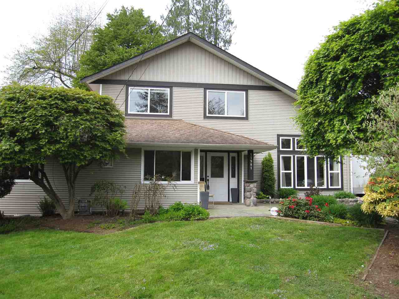 Main Photo: 11981 248 Street in Maple Ridge: Cottonwood MR House for sale : MLS®# R2165177
