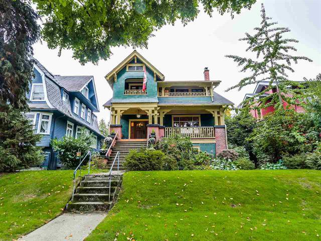 Main Photo: 2036 W 13th Avenue in Vancouver: Kitsilano House for sale (Vancouver West)  : MLS®# R2005863