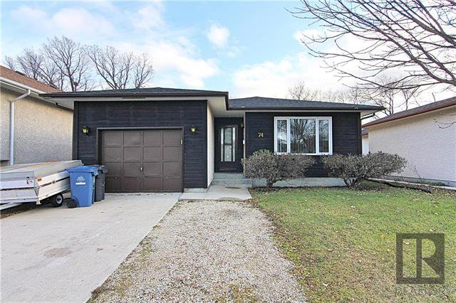 Main Photo: 74 Dorge Drive in Winnipeg: Richmond Lakes Residential for sale (1Q)  : MLS®# 1829388