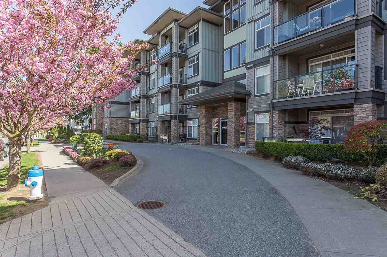 "Photo 2: Photos: 409 33338 MAYFAIR Avenue in Abbotsford: Central Abbotsford Condo for sale in ""The Sterling"" : MLS®# R2346998"