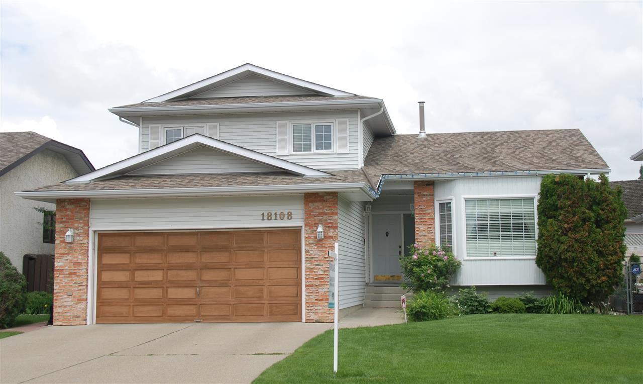 Main Photo: 18108 58 Avenue in Edmonton: Zone 20 House for sale : MLS®# E4163323