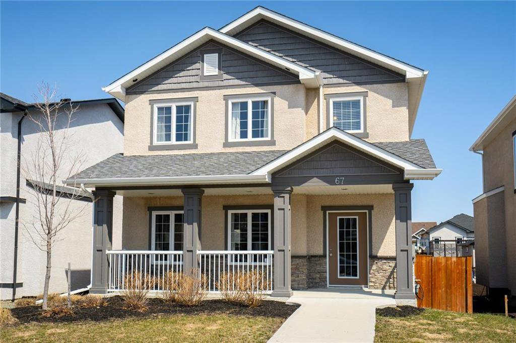 Main Photo: 67 Appleford Gate in Winnipeg: Bridgwater Lakes Residential for sale (1R)  : MLS®# 202010252
