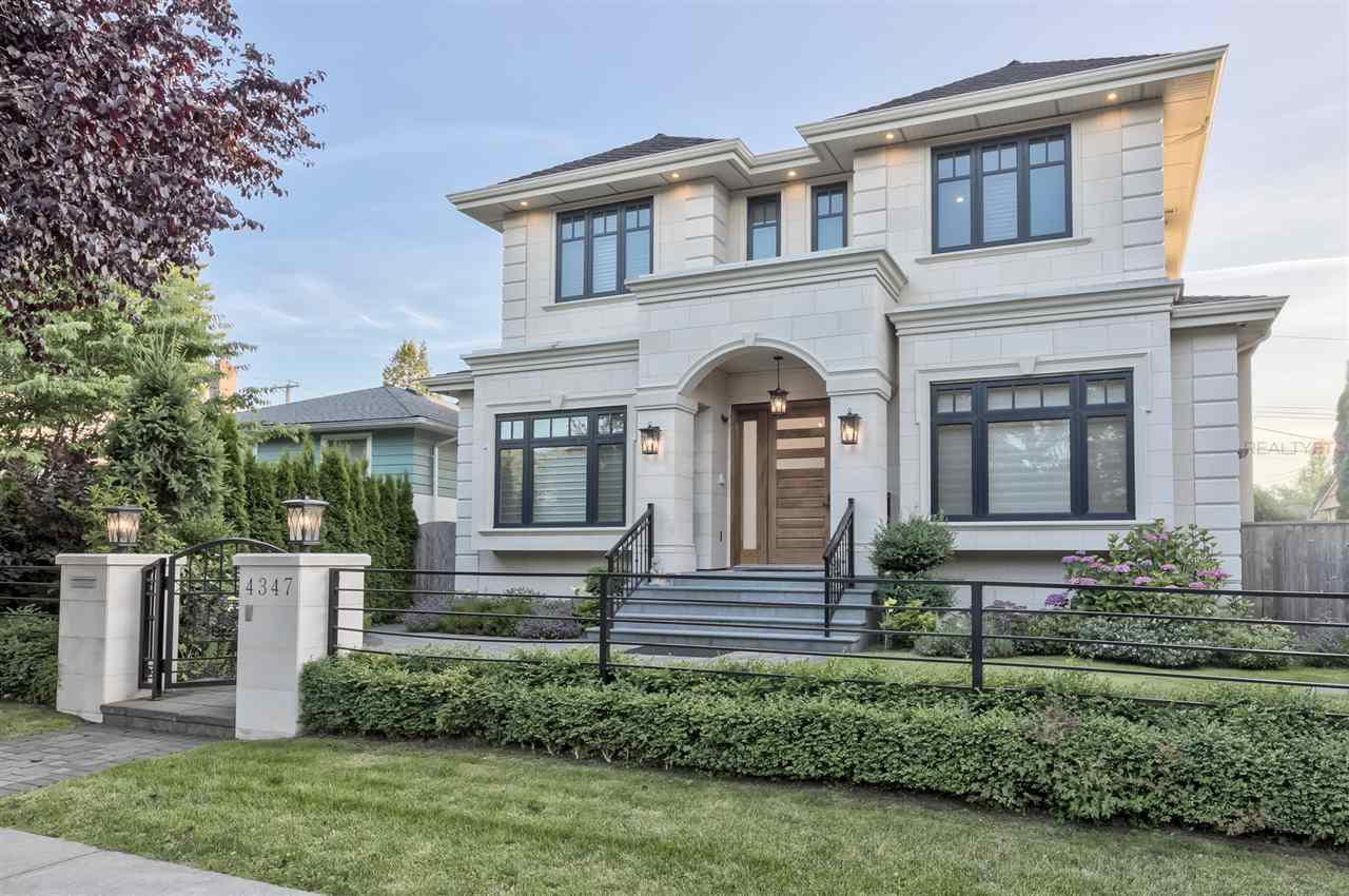 Main Photo: 4347 VALLEY DRIVE in Vancouver: Quilchena House for sale (Vancouver West)