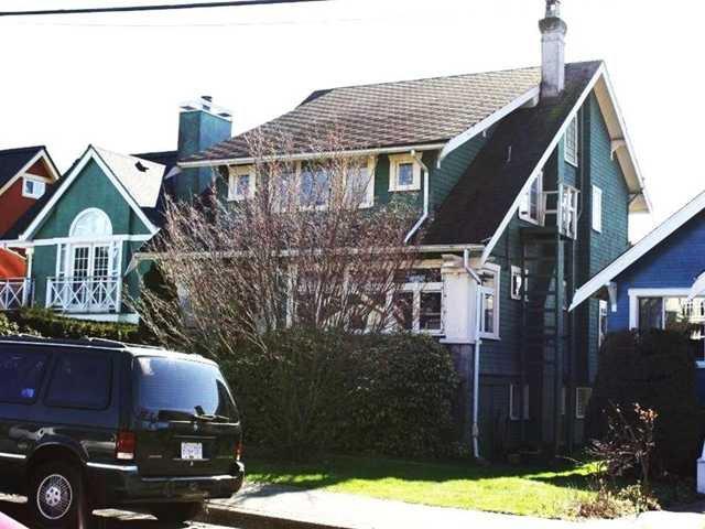 Main Photo: 3616 W 5TH AV in : Kitsilano House for sale : MLS®# V938914