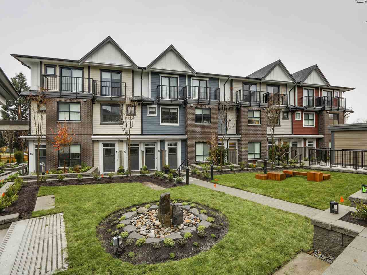 Main Photo: TH37 7039 MACPHERSON AVENUE in Burnaby: Metrotown Townhouse for sale (Burnaby South)  : MLS®# R2127174