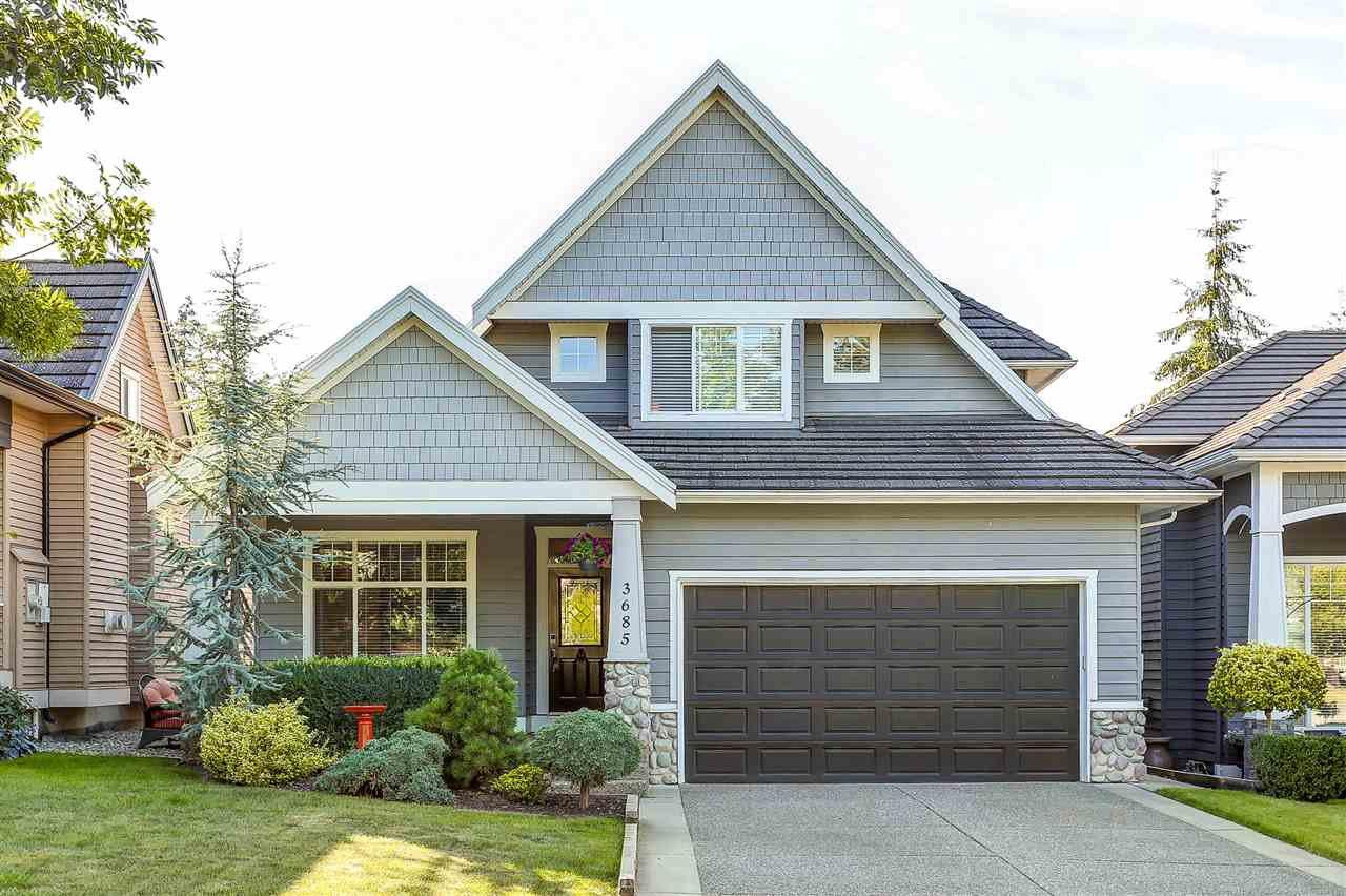 Main Photo: 3685 155 STREET in Surrey: Morgan Creek House for sale (South Surrey White Rock)  : MLS®# R2119075