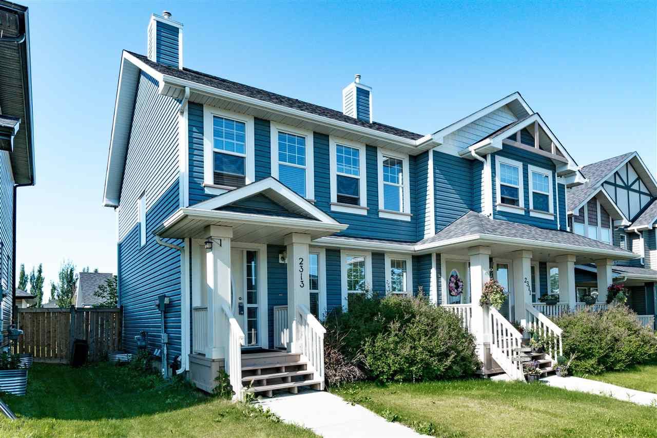 Main Photo: 2313 ASPEN Trail: Sherwood Park House Half Duplex for sale : MLS®# E4177563