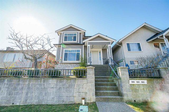 Main Photo: 886 E King Edward Avenue in Vancouver: Fraser VE House for sale (Vancouver East)  : MLS®# R2447497