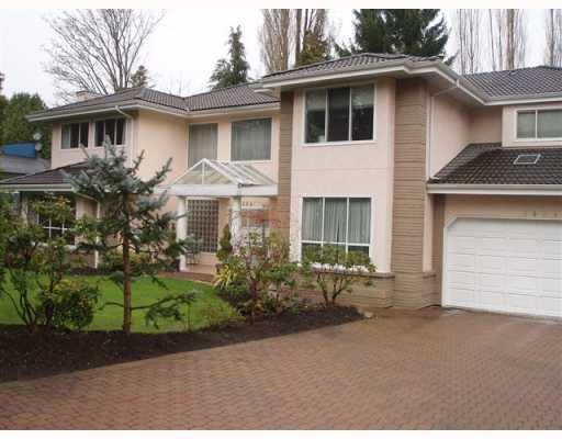 Main Photo: 5484 RUGBY AV in Burnaby: Deer Lake House for sale (Burnaby South)  : MLS®# V764827