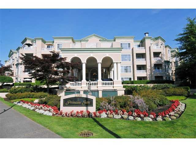 "Main Photo: 211 2995 PRINCESS Crescent in Coquitlam: Canyon Springs Condo for sale in ""PRINCESS GATE"" : MLS®# V1011527"