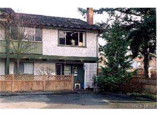 Main Photo: 7 1705 Feltham Road in VICTORIA: SE Lambrick Park Townhouse for sale (Saanich East)  : MLS®# 174112