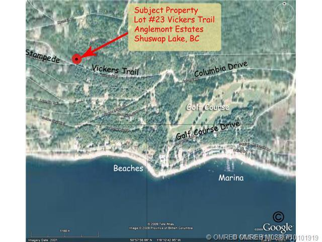 Main Photo: 23 Vickers Trail in Anglemont: Anglemont Estates Vacant Land for sale (North Shuswap)  : MLS®# 10131535