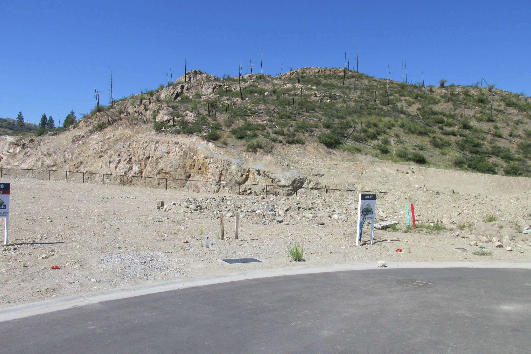 Main Photo: 1237 Jack Smith Rd in Kelowna: Upper Misiion Land Only for sale : MLS®# 10164618