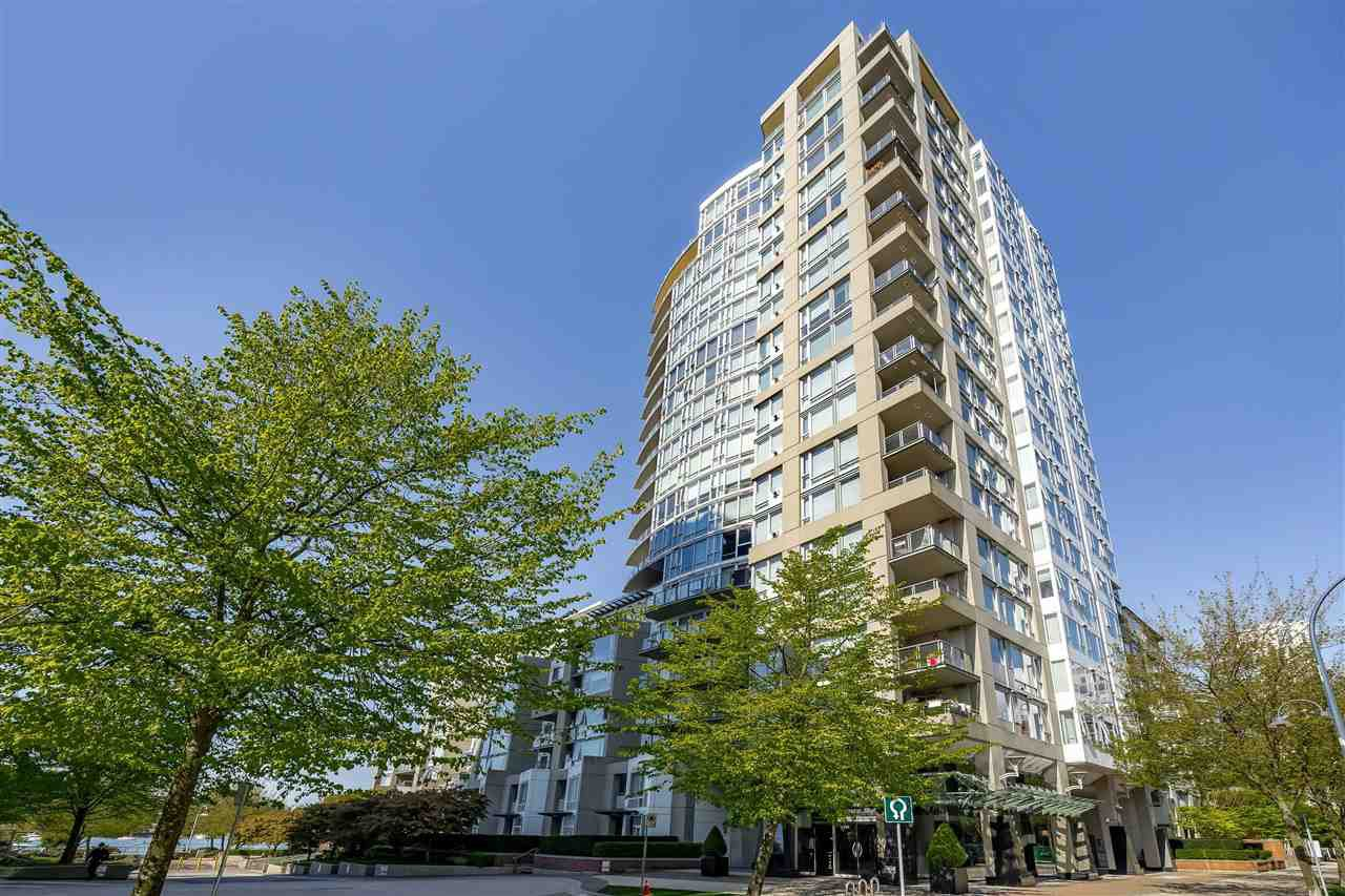 Main Photo: 507 1383 MARINASIDE CRESCENT in : Yaletown Condo for sale : MLS®# R2365345