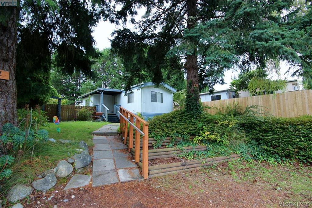 Main Photo: 12 6947 W Grant Rd in SOOKE: Sk Broomhill Manufactured Home for sale (Sooke)  : MLS®# 827521