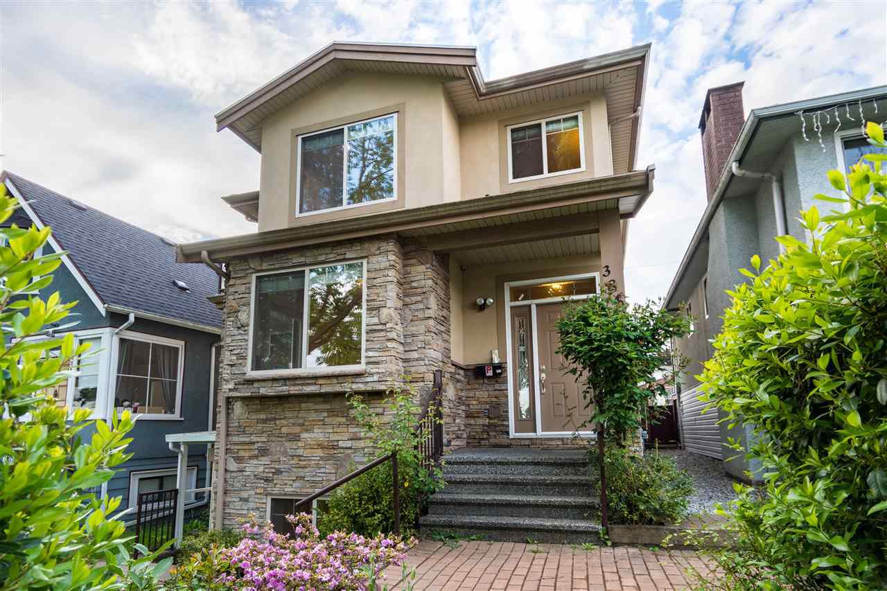 Main Photo: 3849 PARKER Street in Burnaby: Willingdon Heights House for sale (Burnaby North)  : MLS®# R2423199